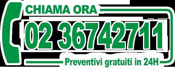 Chiama il numero 02.36742711